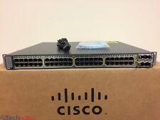 Cisco Catalyst WS-C3750E-48TD-S 48 Port 10/100/1000 Switch 15.0 OS SAME DAY SHIP