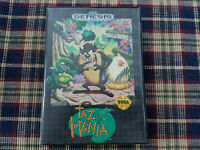 Taz-Mania - Authentic - Sega Genesis - Case / Box Only!