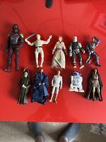 10x Hasbro 909/2000's Star Wars Action Figures Bundle job lot - STAR WARS - (21)