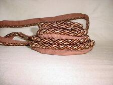 Vintage 60cm Cable con 4cm Marfil Seda Borlas en extremos. 100 Piezas Por Lote