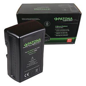 PATONA Premium Akku V-Mount 190Wh für Sony BP190WS DSR 250P 600P 650P 652P