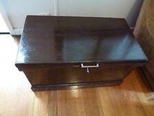storage trunk or blanket box