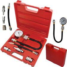 Automotriz Gasolina Motor de compresión Tester Kit válvula calendario Calibre Pro Cilindro
