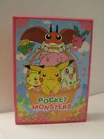 NEW Pokemon Pikachu Pocket Monsters FUN ANIME SHOPRO Storage Box CASE