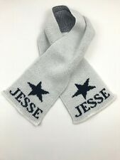 """Boys Scarf Butterscotch Blankees Personalized Knit """"Jesse"""" Face Wrap Protection"""