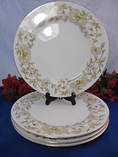 "KENT China PRELUDE Dinner Plates 10 5/8"" JAPAN Set Of 4"