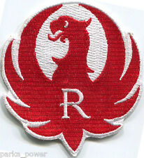 Ruger Bird Patch, iron on, embroidered, firearms, guns, hunting