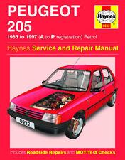 Peugeot 205 XE XS GTI 1983-1997 Haynes Manual 0932 NEW