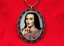 LILY MUNSTER DRACULA VAMPIRESS PENDANT NECKLACE GOTH