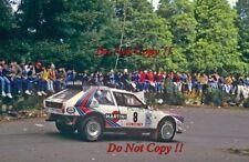 Henri Toivonen Martini Lancia Delta S4 Portugal Rally 1986 Photograph 1