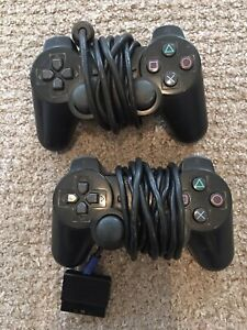 Ps2 Controllers And Memory Card Bundle
