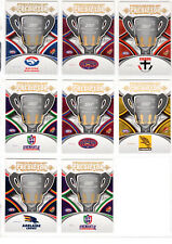 2007 SELECT PREMIERSHIP PREDICTOR CARDS x 8 NOT REDEEMED