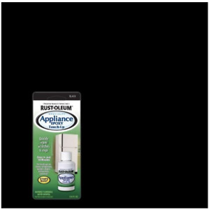 Rust-Oleum Specialty Gloss Appliance Touch-Up Paint, Black, 0.6 Oz.