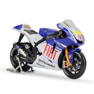 1:10 YAMAHA YZR-M1 #46 Valentino Rossi MOTO GP 2009 Model DIECAST Motorcycle