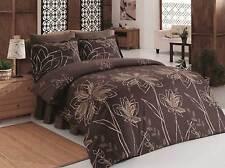 Bettwäsche Bettwaren, -wäsche & Matratzen Bettwäsche 200x200 Cm Bettgarnitur Bettbezug Baumwolle Kissen 5 Tlg Duru