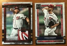 2020 Topps Stephen Strasburg Museum Meaningful Material Relic Patch Ruby #/10