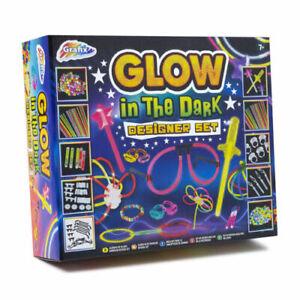 Glow in the Dark Designer Set Glow Stick Craft Kit Craft Set Creative Play Art
