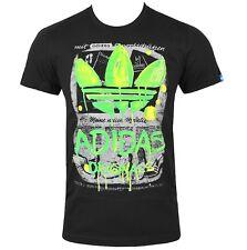 adidas Trefoil Graphic Grunge T-Shirt Kinder Superstar Jungen schwarz [164/170]
