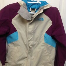 NORTH FACE Girl's  Hooded Hyvent Triclimate Water Resistant -Size M (10/12)