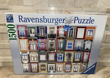 RAVENSBURGER POTUGUESE WINDOWS 1500 PIECE JIGSAW PUZZLE New Factory Sealed