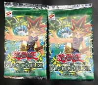 Magic Ruler Yugioh Booster Pack Unlimited English Edition - Brand New Sealed-2pk