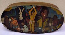 Spanschachtel Schachtel Dose nach Paul Gauguin Dose Box Ostern Aufbewahrung Deko
