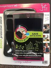 Boogie Board 8.5 Jot Inch LCD Writing Tablet Bundle with Sleeve and Stylus -PINK