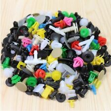 200pcs Auto Car Plastic Rivet Fasteners Push Pin Bumper Fender Panel Clips