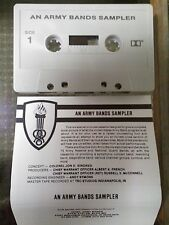 """Cassette """"An Army Bands Sampler"""" rare tape various army bands brand new"""