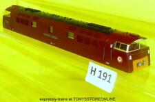 h191 hornby oo cl52 rn d1062 western courier maroon glazed bodyshell nr xclnt,
