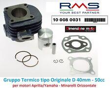 Gruppo Termico Cilindro + Pistone RMS D 40mm - 50cc per Atala Carosello 50 2T