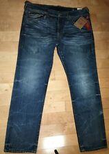 True Religion Fossil Silk Big T Skinny Jeans Men's Size 40 Waist NWT Pants