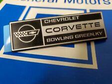 1984-93 Corvette Bowling Green Under Hood Emblem - GM 10175789