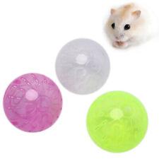 Plastik Haustier Nagetier M��use Jogging Ball Spielzeug Hamster Rennmaus Ratte MD