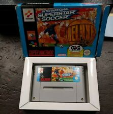 INTERNATIONAL SUPERSTAR SOCCER DELUXE GIG Super Nintendo Snes ISS Pal