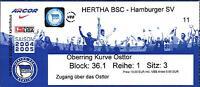 Ticket BL 2004/2005 Hertha BSC - Hamburger SV, 26.02.2005