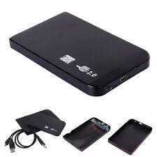 Black USB 2.0 SATA 2.5