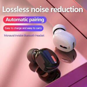 Mini In-Ear 5.0 Bluetooth Earphone HiFi Wireless Headset With Mic Earbuds