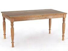Esstisch massiv Landhaus Olinda 160 x 90 Tisch Massivholz Antik im Shabby Stil