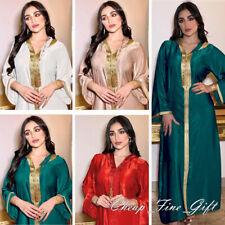 Morocco Kaftan Hooded Abaya Dress Jilbab Farasha Caftan Muslim Women EID Clothes