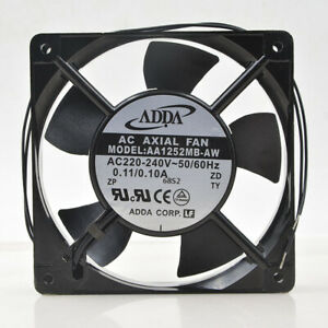 ADDA AA1252MB-AW 12CM 220v 0.11A 12025 Cabinet Chassis Aluminum frame fan