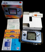 CONSOLA NEO GEO POCKET COLOR SNK Azul Platino Complete Neogeo NEOP50010 Blue