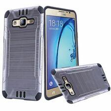 Fundas y carcasas color principal negro de metal para teléfonos móviles y PDAs Samsung