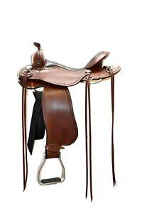 "Used Cashel 16"" Western Trail Saddle Regular Quarter Horse Bar"