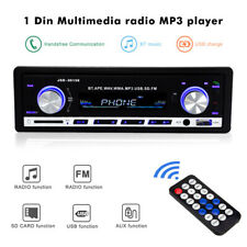 1 Din Bluetooth Car Stereo Audio Radio MP3 Player SD USB FM Radio Receiver AUX