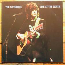 """The Waterboys """"Live At The Zenith"""" 1991 White Vinyl LP The Swingin' Pig TSP 098"""