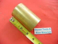1 34 C360 Brass Round Rod 3 Long Solid H02 Lathe Bar Stock