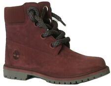 "Womens Ladies Timberland 6"" Burgundy Boots shoes Size UK 5  EU 38  A2Q84 No Box"