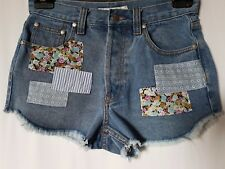 """WOMEN'S SHORTS MINKPINK MINI STRETCH BUTTON FLY SIZE 10/28"""" FREE POSTAGE"""