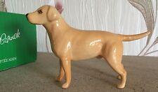 Beswick Perro Labrador Brillo modelo no 1956 Dorado Marrón Brillo Perfecto Raro